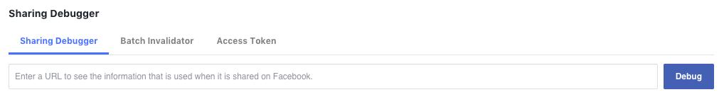 How to Optimize Facebook Sharing Using Facebook Link Debugger