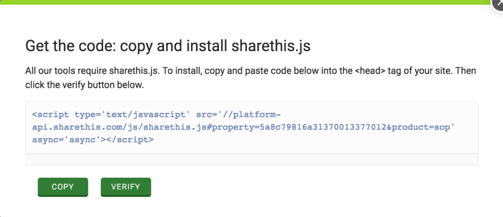 sharethis javascript code