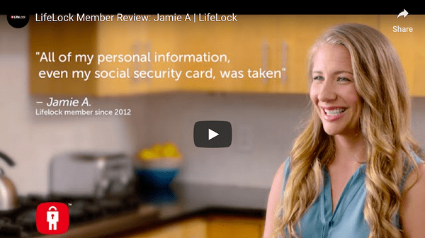 Video Testimonial LifeLock